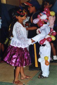 Faschingspärchen Tanz
